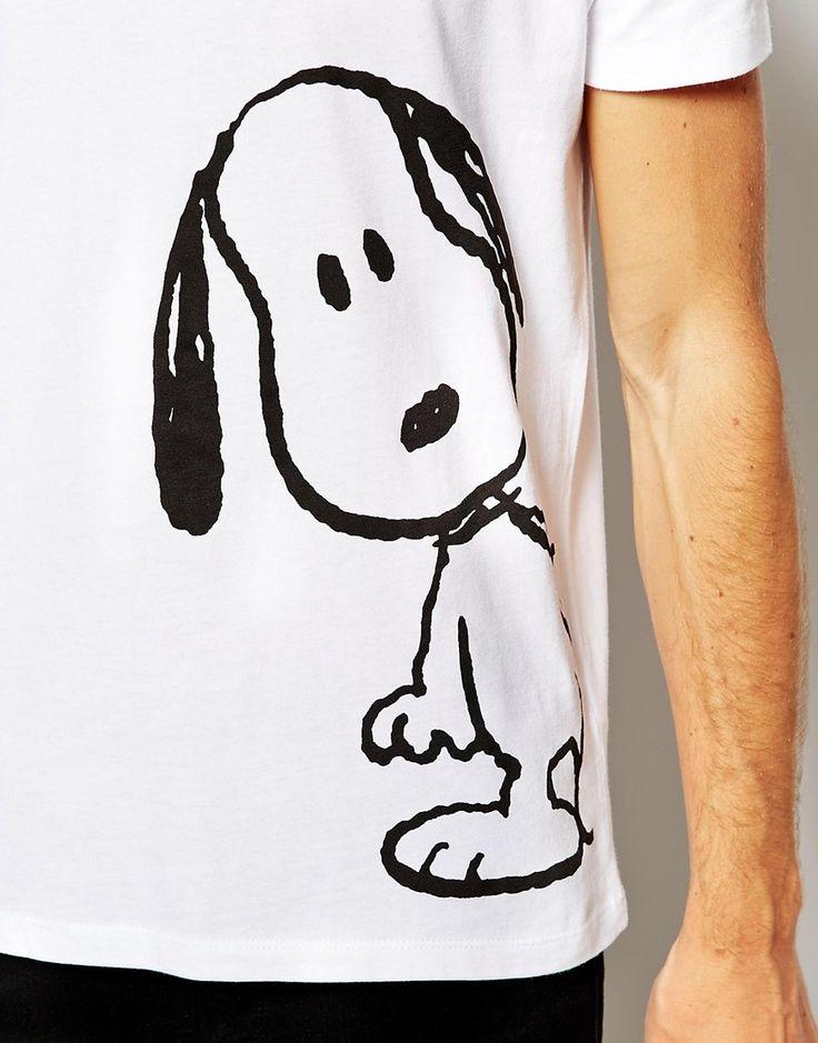 ASOS | ASOS T-Shirt With Snoopy Print at ASOS