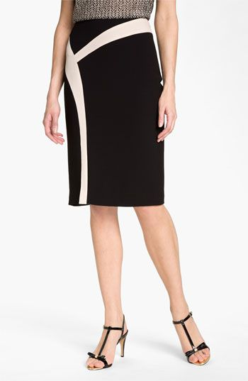 Rachel Roy Abstract Colorblock Skirt available at Nordstrom