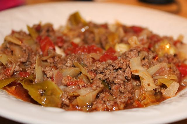 Unstuffed Cabbage I am always searching for those quick and easy recipes to make and this one had comfort food written all over it! I love s...