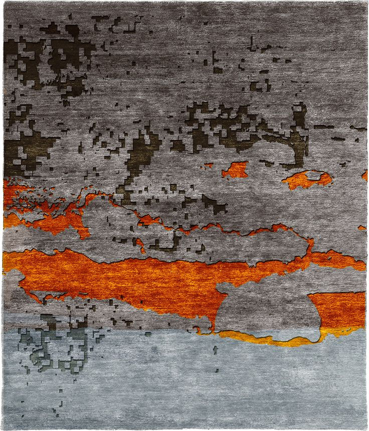 Viverrinus Hand Knotted Tibetan Rug from the Tibetan Rugs 1 collection at Modern Area Rugs