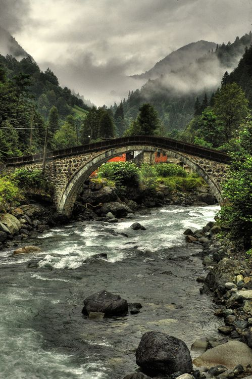 Old Bridge2 - Arhavi, Artvin