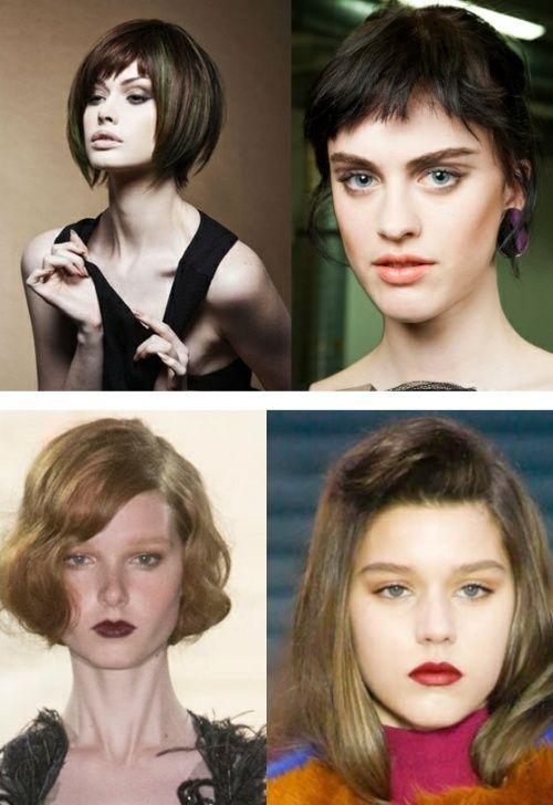 Вечерние укладки для средних волос. Модные тенденции Осень-Зима 2015/2016 - фото