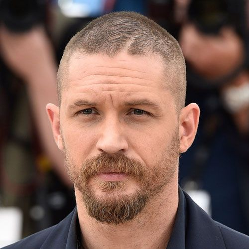 Male Celebrity Hairstyles - Tom Hardy Haircut