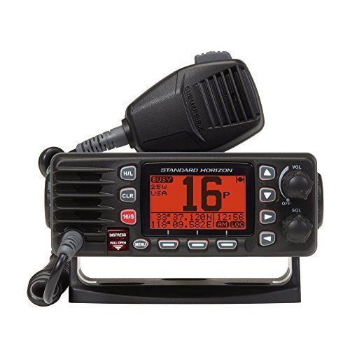 #marineelectronics Standard Horizon GX1300B Eclipse Fixed Mount VHF Radio (Black): We are currently selling the fantastic Standard Horizon…