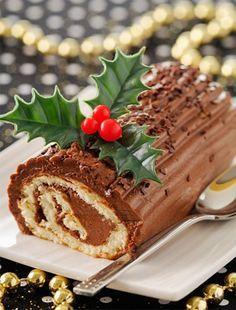Csupa csokis fatörzs torta | femina.hu