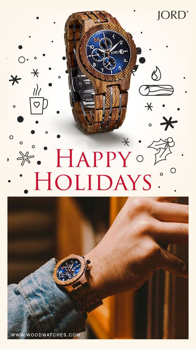 Give your loved ones the most unique gift of 2016, a natural wood watch from JORD! Personalize its with an engraving in your own handwriting :) Unique, unexpected, and unforgettable. Free shipping worldwide with an extended return policy through the holiday!
