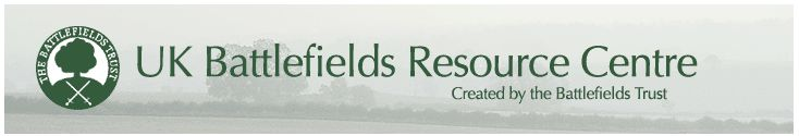 UK Battlefields - The UK Battlefields Trust Resource Centre - Sponsored by the Heritage Lottery Fund and the Hartnett Trust