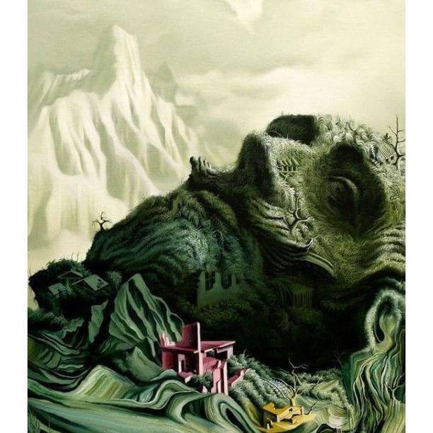 """Adopt the #pace of #nature: her secret is #patience."" ― R.W.Emerson ❇  Vasilis Avramidis  #art #arte #creative #creativity #artwork #illustration #surrealismo #surrealism #surreal #surrealart #naturealive #alive #green"