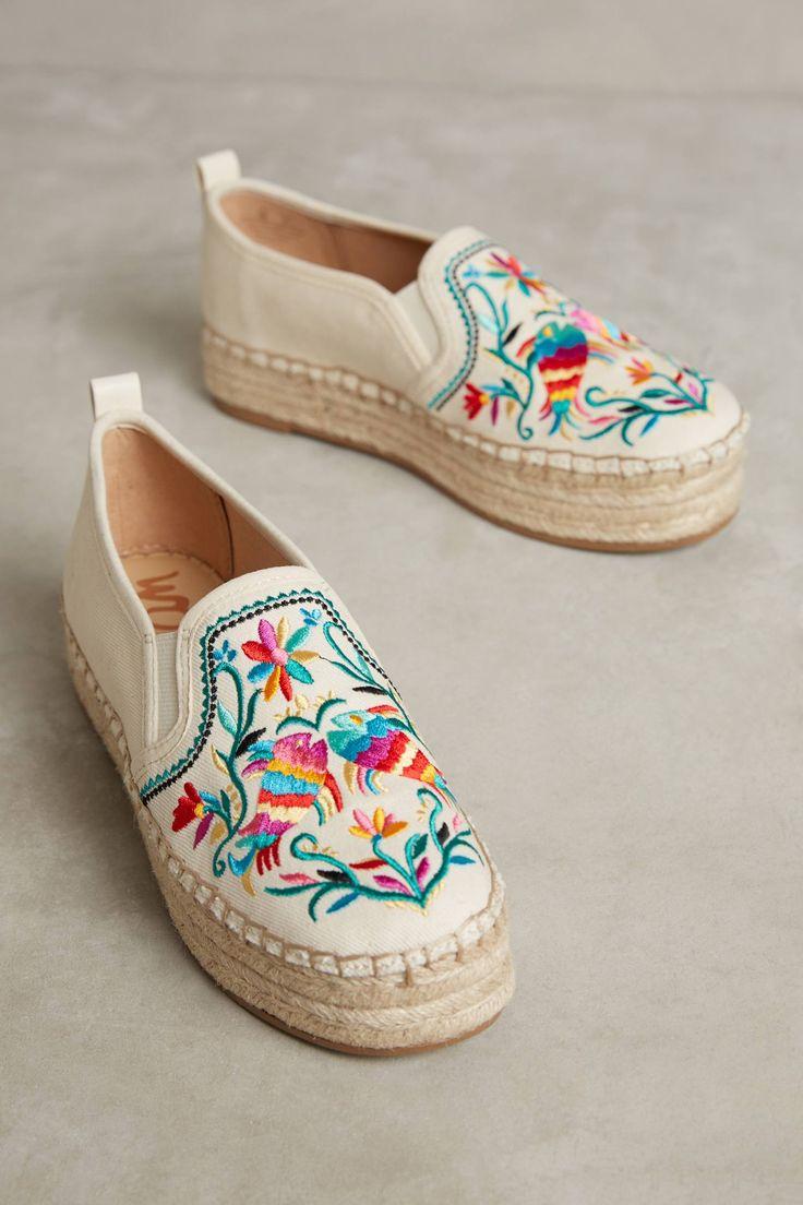 Slide View: 1: Sam Edelman Embroidered Carrin Espadrilles