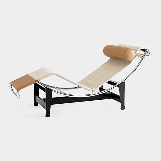 Le corbusier chaise longue sennairee furniture pinterest for Chaise lounge corbusier