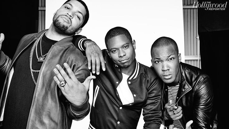 O'Shea Jackson Jr., Jason Mitchell and Corey Hawkins