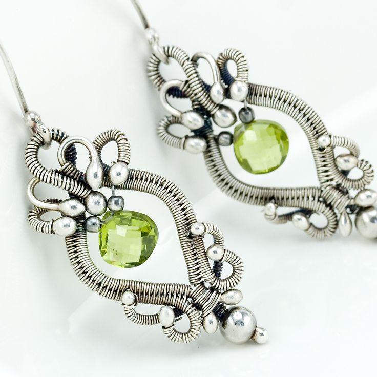 3700 best Earrings images on Pinterest | Wire earrings, Earrings and ...