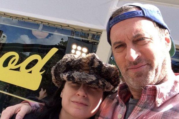 Scott Patterson Poses at Luke's Diner with 'Gilmore Girls' Creator Amy Sherman-Palladino   Celebuzz