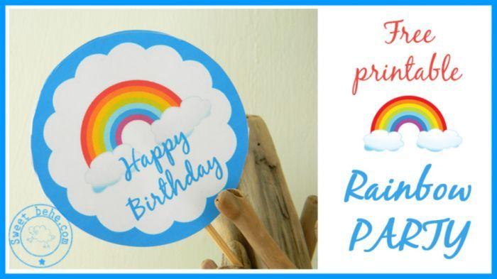 Compleanno a tema Arcobaleno - Rainbow party