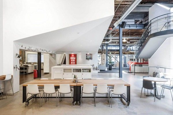 Pinterest's San Francisco Headquarters – A Restored Warehouse With Industrial Charm