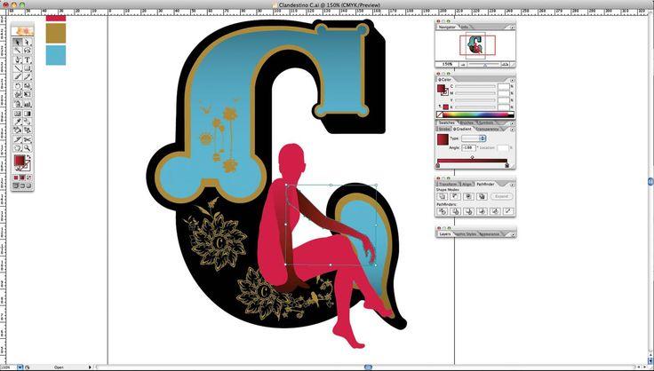 Adobe Illustrator tutorial: Create Art Deco type art - Digital Arts