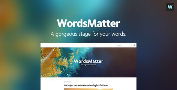 [GET] WordsMatter - Designed for Your Writings (Blog / Magazine) - NULLED - http://wpthemenulled.com/get-wordsmatter-designed-for-your-writings-blog-magazine-nulled/