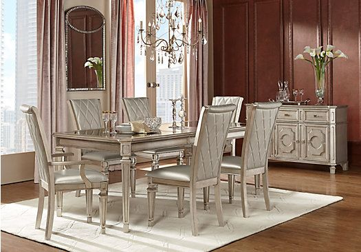 Belle Terra Silver 5 Pc Dining Room. $777.00.  Find affordable Dining Room Sets for your home that will complement the rest of your furniture.