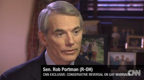 Anti-Gay Bigots Take Pathetic Swipe at GOP Sen. Rob Portman After Failing to Find Viable Primary Challenger