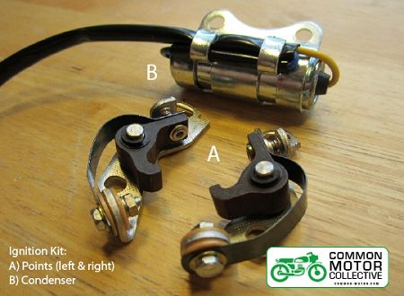 Honda CB350 / CB360 Ignition Timing - Ignition Rebuild Kit | Common Motor Collective
