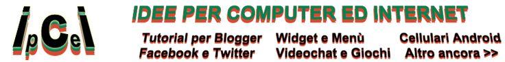 Come creare una casella di ricerca originale per Blogger.