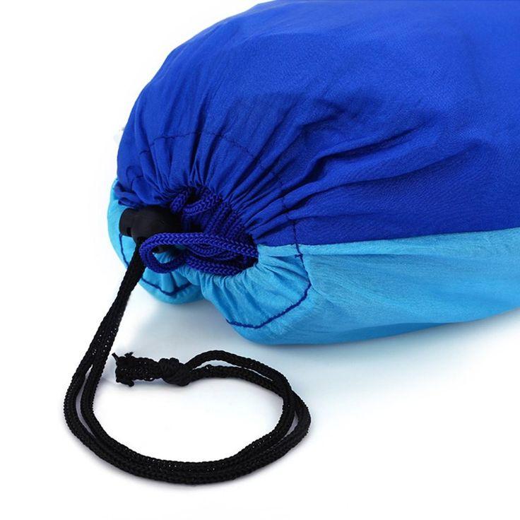 2016 Fashion Handy Parachute Hammock Fabric Mosquito Net Camping Hammock Single Person Portable Indoor Outdoor Camping Hangmat