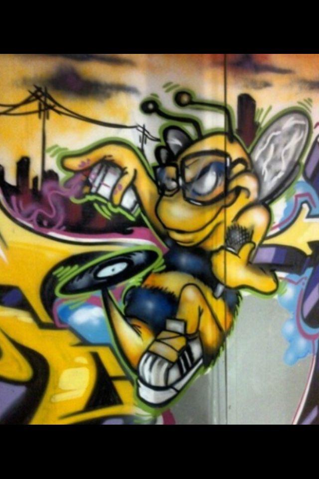 Killer Bee Character Graffiti Characters Pinterest Bees