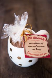 Skinnymixer's Healthy Hot Chocolate Mix Gift