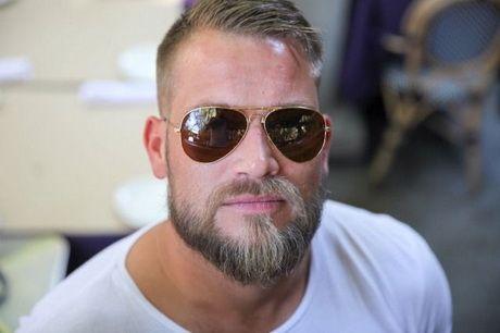 Coupe Cheveux Homme Degarni Beard No Mustache Beard Glasses Hair And Beard Styles