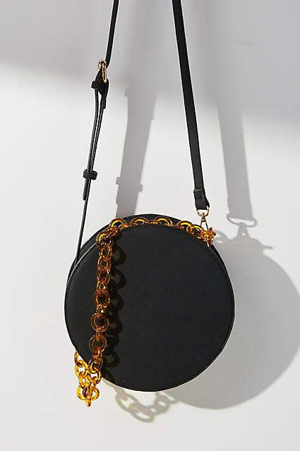 8d1abb03d2 Anthropologie Chained Circle Crossbody Bag