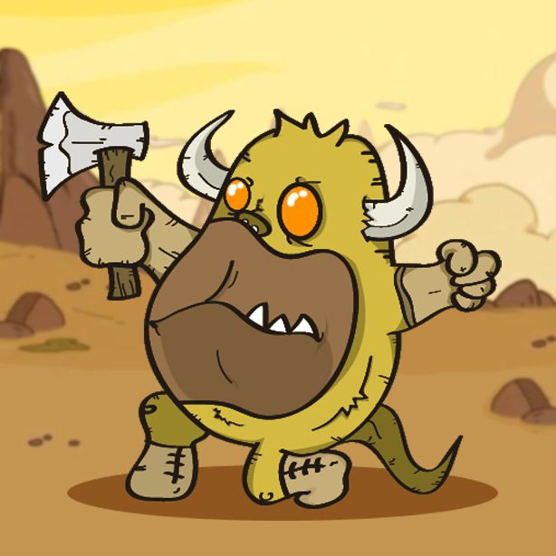 Monstrinho guerreiro