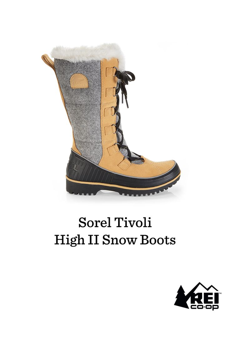 Save 30% on the Sorel Tivoli snow boots now through Nov. 21! It's your chance to save big on the stylish answer to rain, snow, ice and freezing temps. The waterproof design is insulated to keep you comfortable down to 0°F. The mid-calf height offers protection and warmth for your feet and lower legs, and the waterproof suede leather uppers have a cozy micro-fleece lining and faux fur edging. In snowy or icy conditions, the molded rubber outsoles offer you a secure, steady grip.