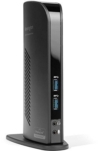 Kensington Station d'Accueil USB 3.0 Double Sortie Vidéo (DVI + HDMI) pour Ordinateur Portable – Noir: Price:109.54USB 3.0 + PORT HDMI 2…