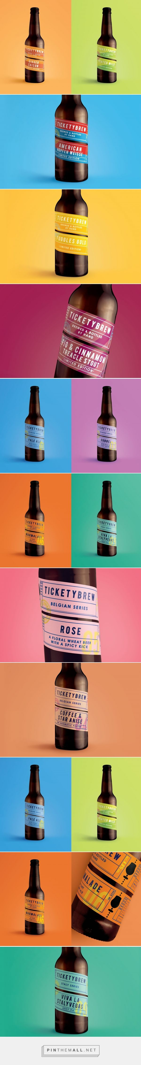 TicketyBrew packaging design by Carter Wong - https://www.packagingoftheworld.com/2018/04/ticketybrew-refreshed.html