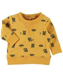 Leuke trui met lange mouwen voor baby jongens van het merk Name it. Verkrijgb...