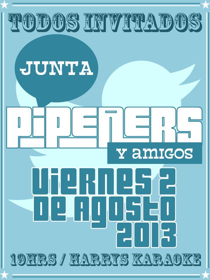 Afiche Junta Pipeners 2013