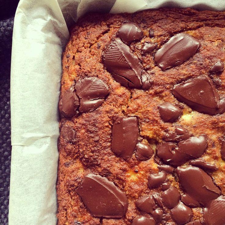 Pain aux bananes aux pépites de chocolat – Bowl & spoon