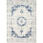 Verona Blue 7 ft. 10 in. x 10 ft. 10 in. Area Rug