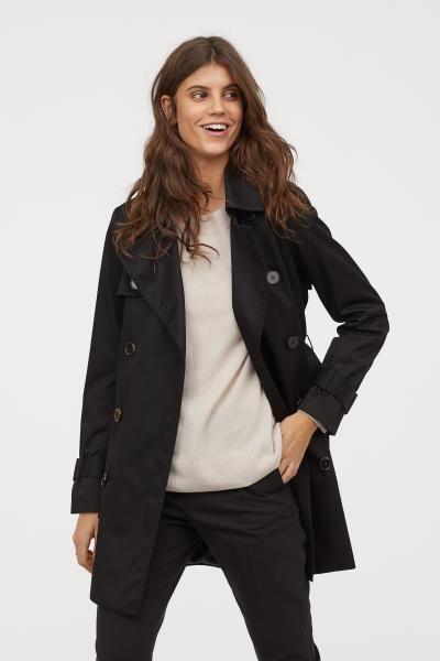 d14b26b6b475 Kort trenchcoat i 2019 | Kläder | Outerwear women, Jackets for women och  Jackets