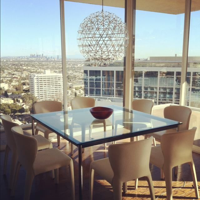 Dining with a view sierra towers the clean architectural lines lets the phenomenal view