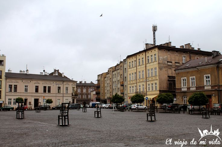 Plaza Heroes Ghetto Cracovia Polonia
