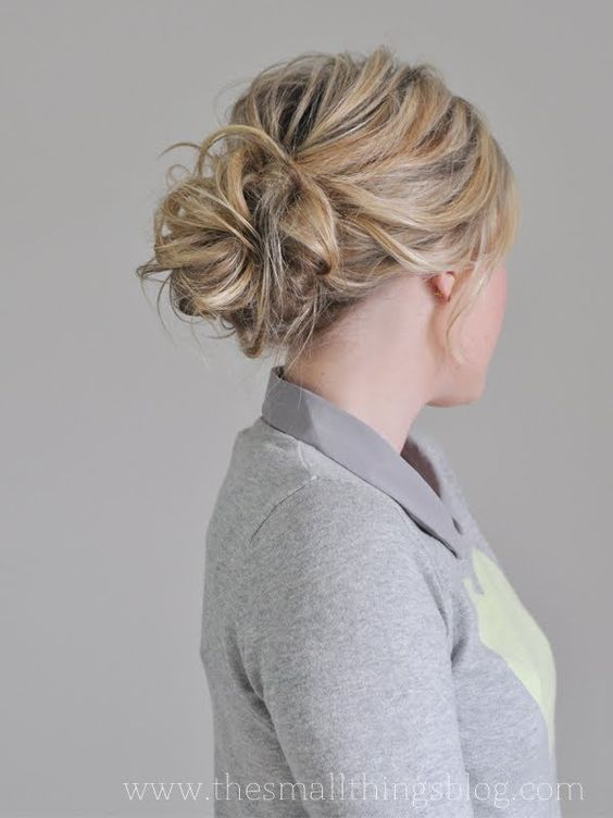 48 Messy Bun Ideas For All Kinds Of Occasions Braids Pinterest