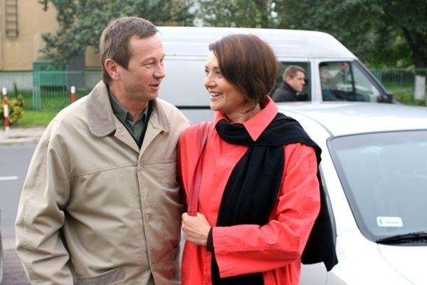 """""""Klan"""", Grażyna i Ryszard Lubiczowie – byli małżeństwem prawie idealnym (fot. TVP)"""