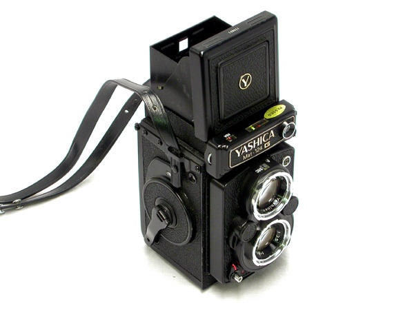 1971 Yashica-Mat-124-G was the last TLR made by Yashica.