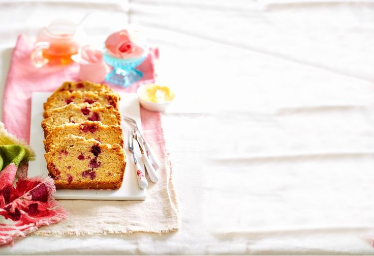 Put the kettle on. With a crumbling sugary crusty topping, and a sweet and creamy coconut and raspberry inside, this is sure to be a favourite teatime treat.