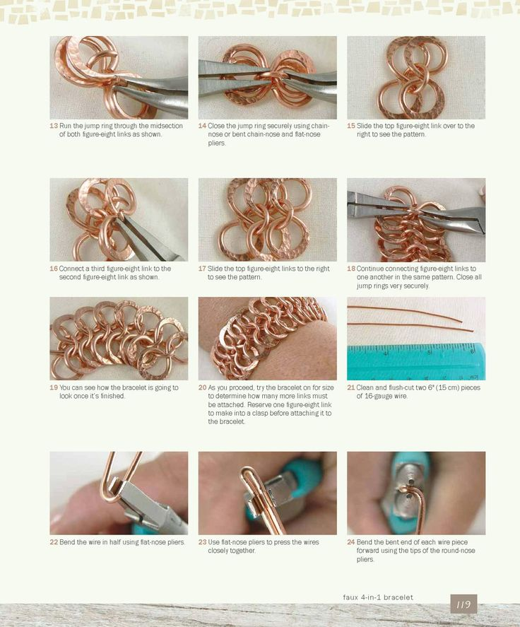 338 best wire wrap bails, links, ends images on Pinterest | Wire ...