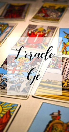 Tirage Oracle Gé en ligne, tirage des oracles, signification des cartes,  cartomancie gratuite 64ab07c52716