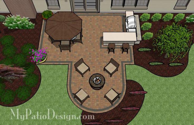 Simple Outdoor Patio Ideas :  Simple Patios, Outdoor Fireplaces, Fire Pit Design, Patios Ideas