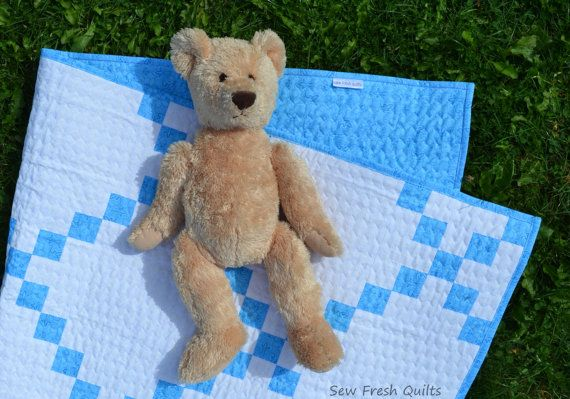Baby crib Quilt for sale traditional design baby by SewFreshQuilts