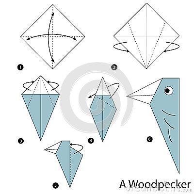 Instrucciones paso a paso cómo hacer papiroflexia una pulsación de corriente